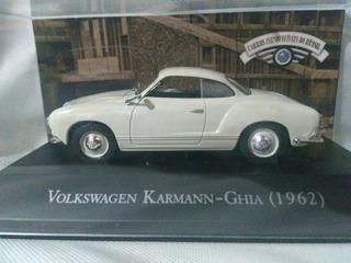 Miniatura Volkwagen Karmann Ghia 1962 Escala 1/43