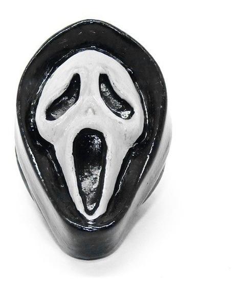 Chaveiro Panico Ghost Face Em Resina