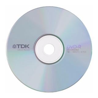 Bulk X100 Dvd Tdk 4.7gb -r Estampado 8x - Factura A / B