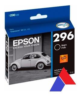 Cartuchos Original Epson 296 Negro Xp 231 241 431 441 296