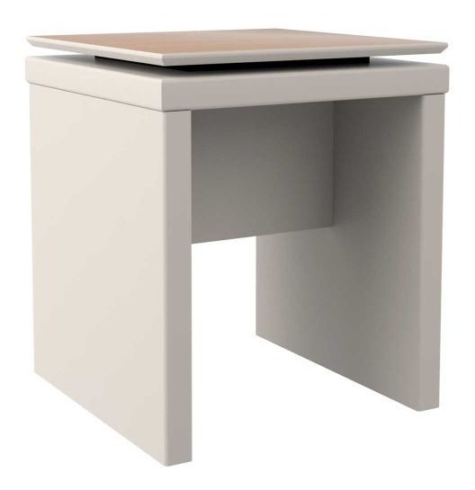 Mesa Lateral Lincoln Off-white
