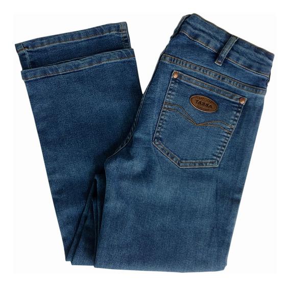 Calça Jeans Feminina Tassa,tradicional Cut C/elastano 8.6mk