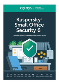 Licencia Kaspersky Small Office 6 For 25 Pcs 3 Server 1 Año