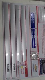 Jogo Frisos Lateral Spin Prata 13/18 Gm 98594065