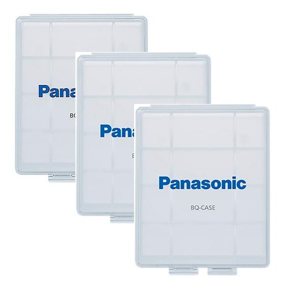 3x Cases Panasonic Eneloop P/ 4 Pilhas Aa Ou 5 Aaa Original