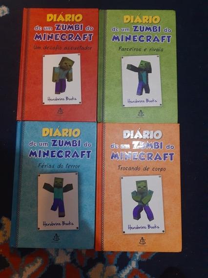 Coleção Diária De Um Zumbí Do Minecraft