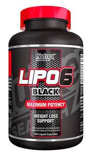 Lipo 6 Black Ultra Concentrado 60 Cáps. - Nutrex