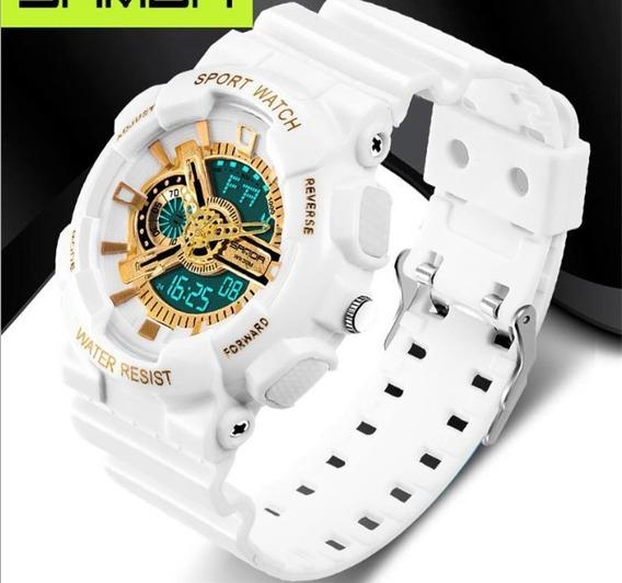 Relógio Masculino Esportivo Pulso Mecânico Digital Led 799