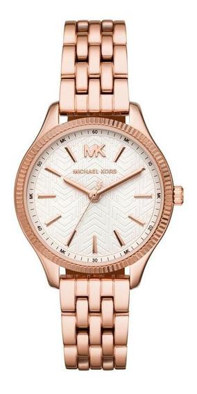 Relógio Feminino Michael Kors Lexington Rosé - Original