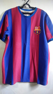 Camisa Retro Do Barcelona Fc - Alusiva 1974
