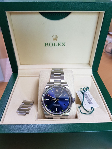 Rolex Oyster Perpetual 114300 Azul 39mm Msi