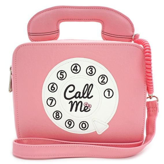 Hello Kitty Loungefly Crossbody Telephone Sanrio