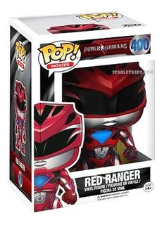 Funko Pop Power Rangers Red Ranger 400 Original Scarletkids