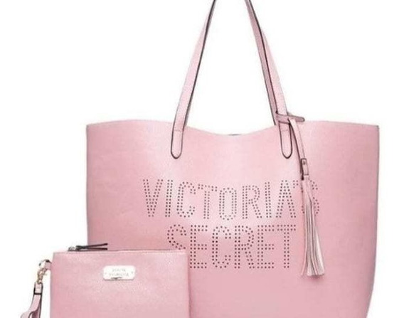 Bolso Victoria Secret - Ecocuero Rosa
