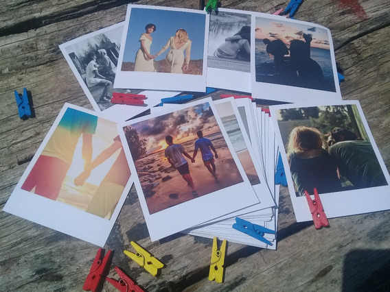 24 Fotos Polaroid + 4 10x15 | Papel 200 Gramos