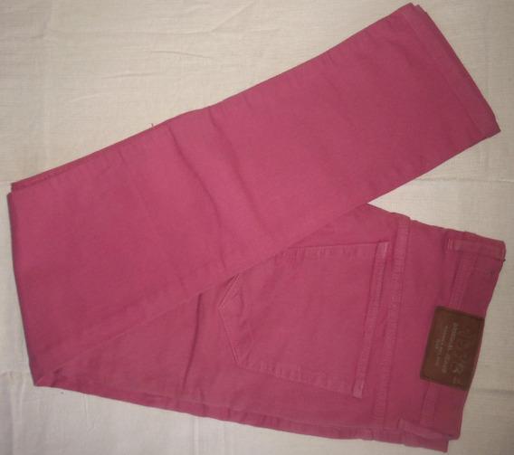 Pantalon Chupin Jean Lew Yes Elastizado Color Talle 46