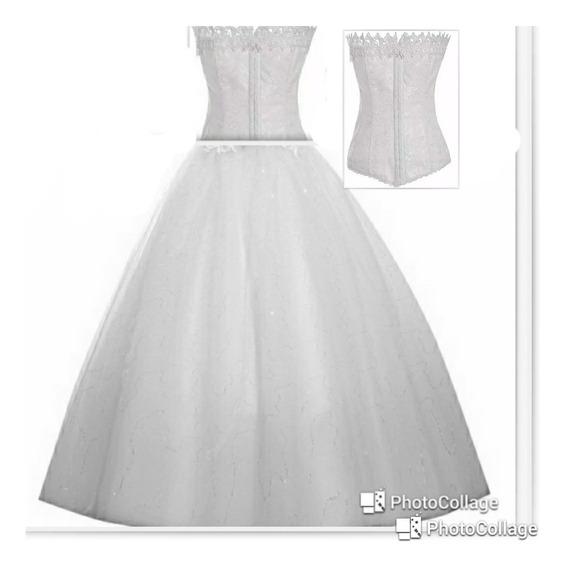 Vestido De Noiva Tomara Caia Pronta Entrega