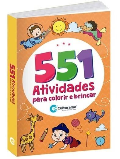 Livro Infantil De Atividades Com 551 Atividades Oferta!
