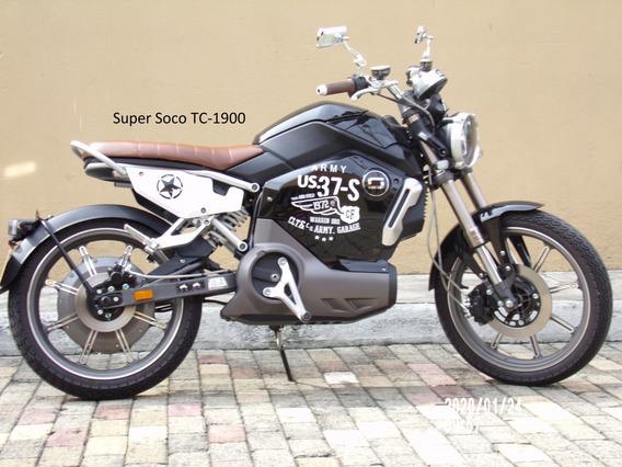 Vendo Moto Eléctrica Auteco Super Soco Tc-1900