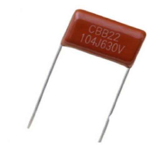 Imagen 1 de 2 de Capacitor Poliester 100nf 0.1uf X 630v X10 Unidades
