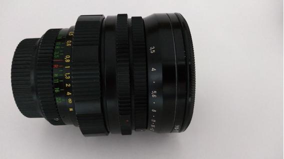 Lente Mir-10a 28mm F3,5 Prime De Grade Angular (usada)
