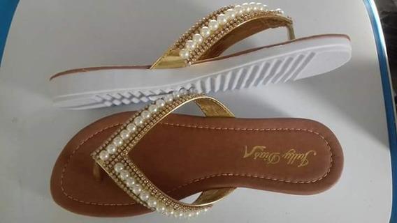 Sandálias De Ótima Qualidade, Costurada E Colada.
