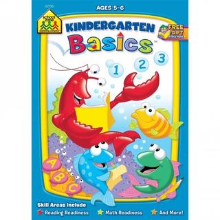 02136 School Zone Kindergarten Basics