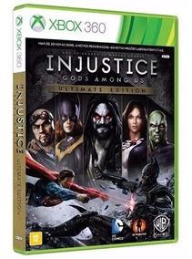 Injustice Gods Among Us Ultimate Xbox 360 Dvd Fisico Origina