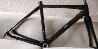Cuadro Fibra.de Carbono Pedal Force.de Ruta Ligero Talla 52