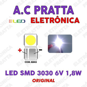 Led Smd Tv 3030 (6v 1.8w) C/ Abas Backlight Semp / 100 Pçs