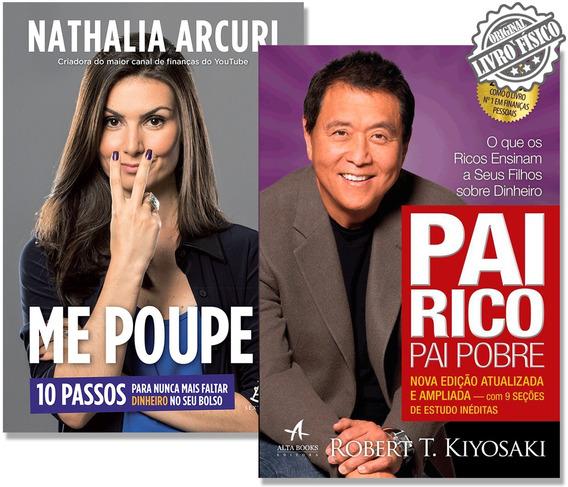 Kit Livro Me Poupe! + Pai Rico Pai Pobre