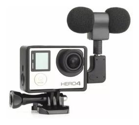 Microfone Stereo Gopro Hero 3+ Hero 4 - Kit Stereo Go Pro