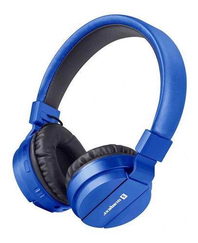 Imagem 1 de 1 de Fone De Ouvido Bluetooth Sumexr 5.0 Com Microfone- Sly-10