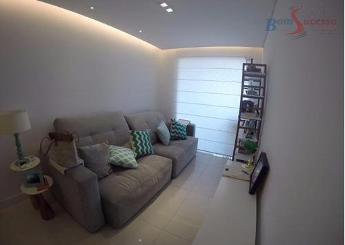 Imagem 1 de 21 de Apartamento Com 2 Dormitórios À Venda, 60 M² Por R$ 460.000,00 - Água Rasa - São Paulo/sp - Ap1175