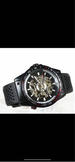 Relógio Masculino Original Automático Pulseira Silicone