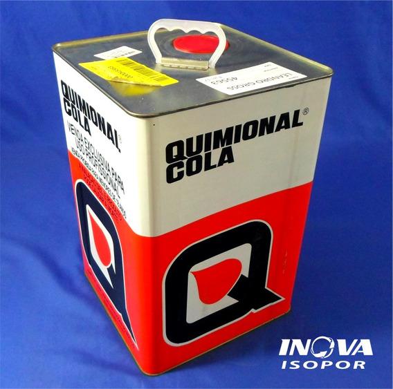 Cola De Contato Para Isopor Quimional 18l Cola Na Hora!