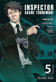 Psycho Pass 5 Inspector Akane Tsunemori! Mangá Panini!
