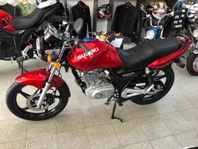 Suzuki En125 Color Rojo 0km Año 2019 Financiación Ezeiza