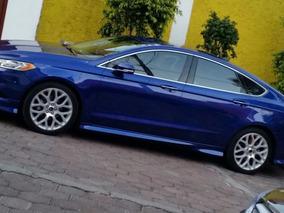 Ford Fusion 2014 Titanium Color Azul