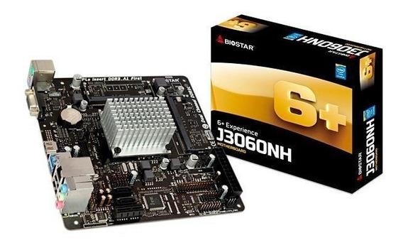 Placa Mae + Cpu Biostar N3050nh Dual Core 1.6ghz Itx