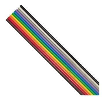 118188 - Cabo Flat 10x22awg Color. 300v 70gr Spar