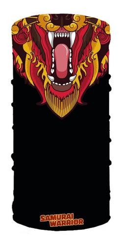 Cuello Mascara Pañuelo Lycra Samurai Warrior Frio Moto Um