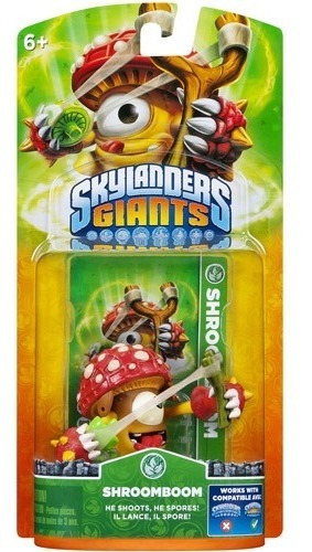 Boneco Skylanders Giants Shroomboom Para Playstation Ps4 3ds