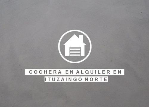 Imagen 1 de 3 de Cochera En Alquiler En Ituzaingó