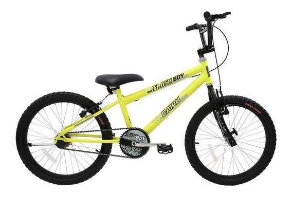 Bicicleta Infantil Aro 20 Cairu Reb Flash Boy Mtb V. Break