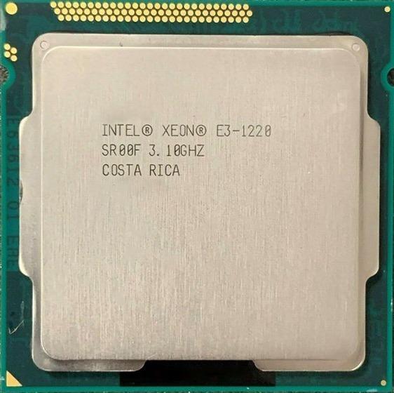 Processador Intel Xeon E3-1220 3.10 Ghz + Garantia + Nf