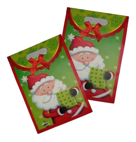 Bolsas En Carton Deseños Navidad, Regalos Navideños