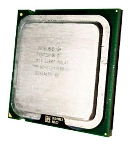 Processador Marca Intel Pentium 2.8ghz D 820 2m 800 Sl88t