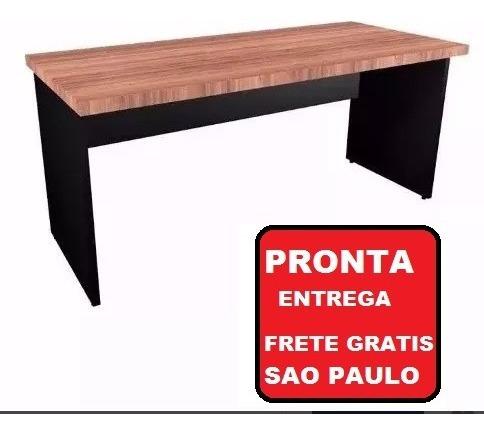 Mesa Reta 150x60 Com 2 Gavetas