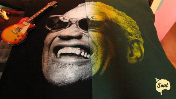 Remera Soul - Mod. Ray Charles